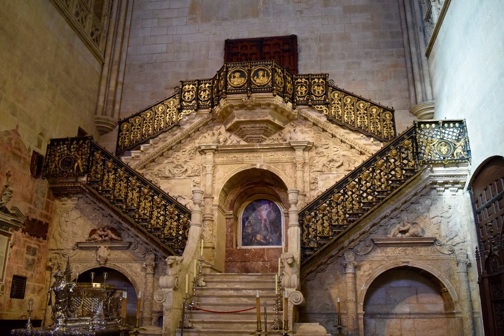 Interior of Burgos Cathedral