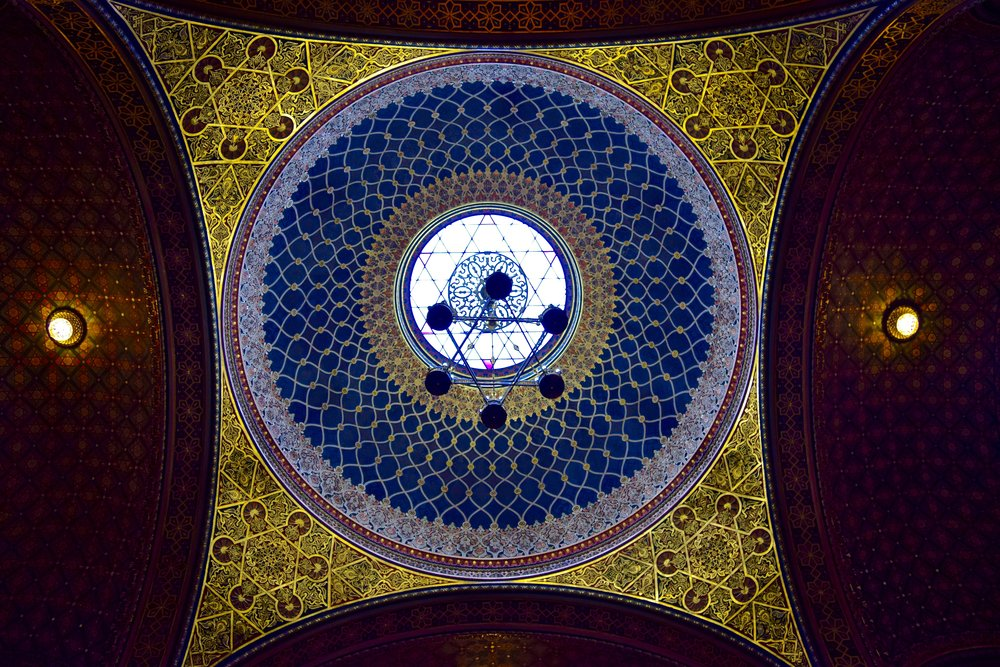 Cupola of the Spanish Synagogue