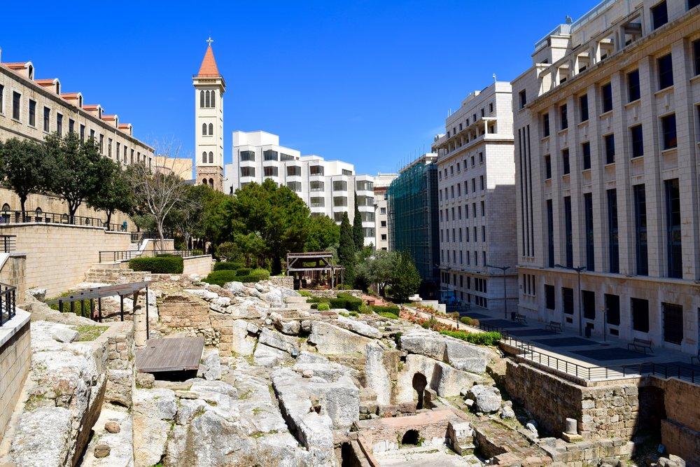 Restos del baño romano
