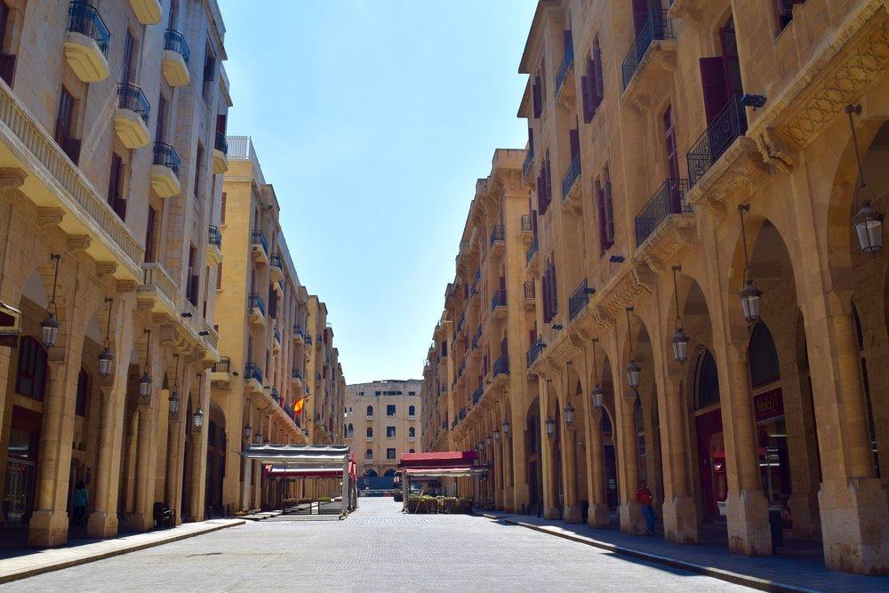 Centro de Beirut
