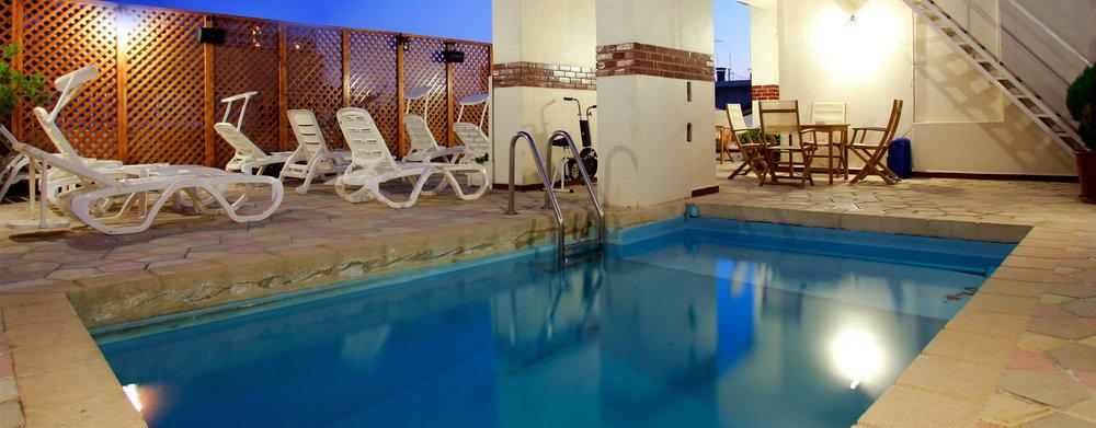Swimming Pool Mayflower Hotel Beirut