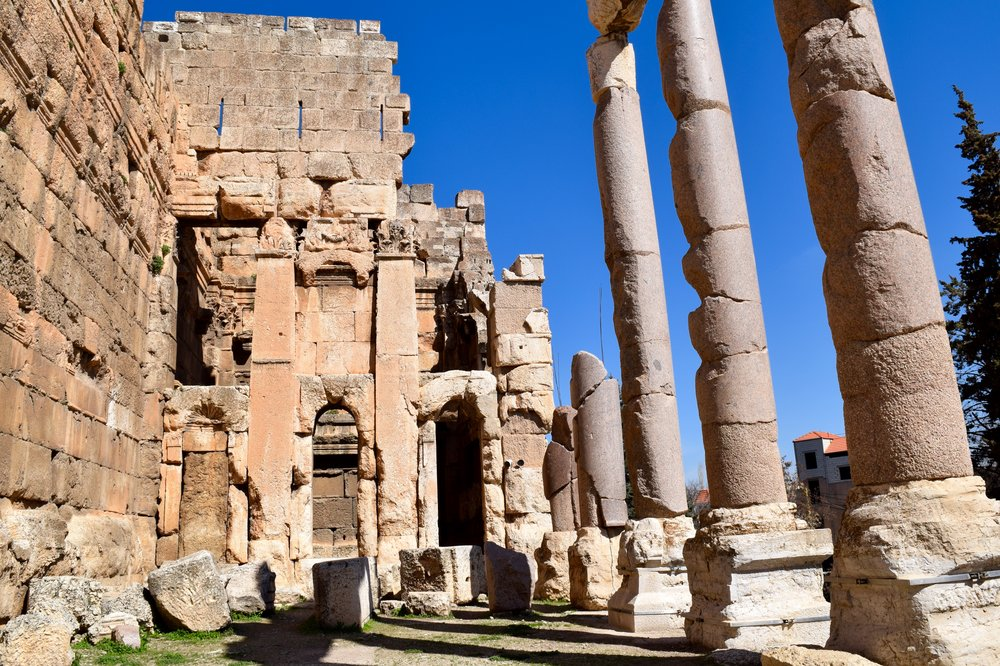 Hexagonal courtyard, Baalbek
