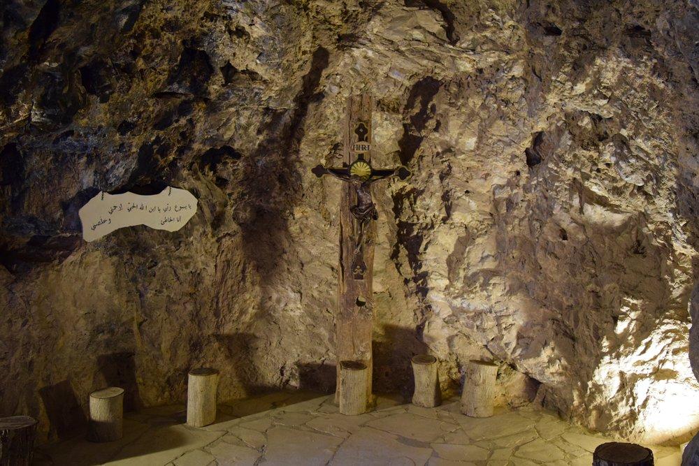 Interior  del Monasterio  de  Mar Lichaa