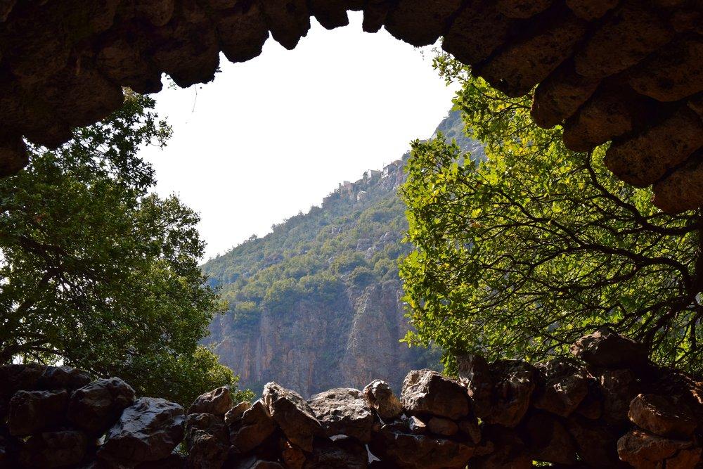Vistas del Valle del Qadisha desde Mar Sarkis