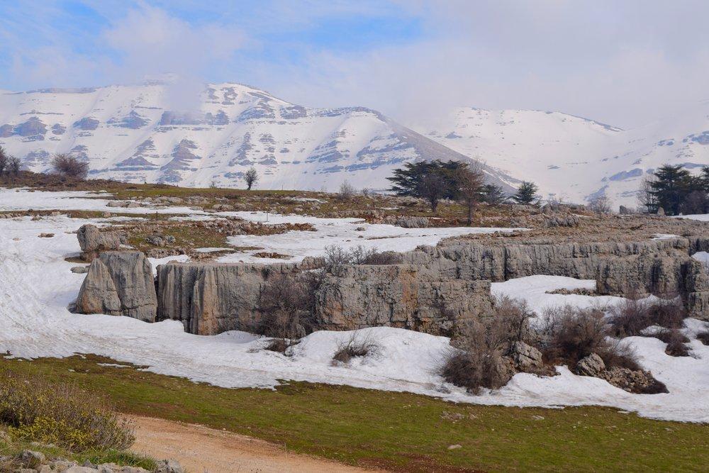 Montañas  de  Tannourine