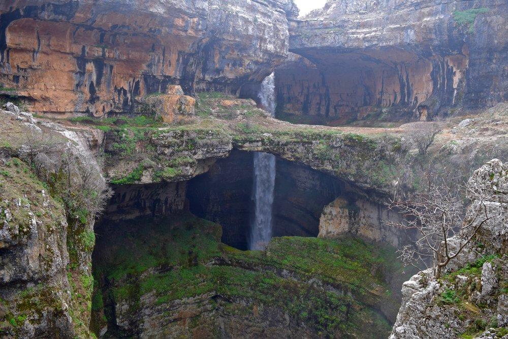 Cascada  de  Baatara