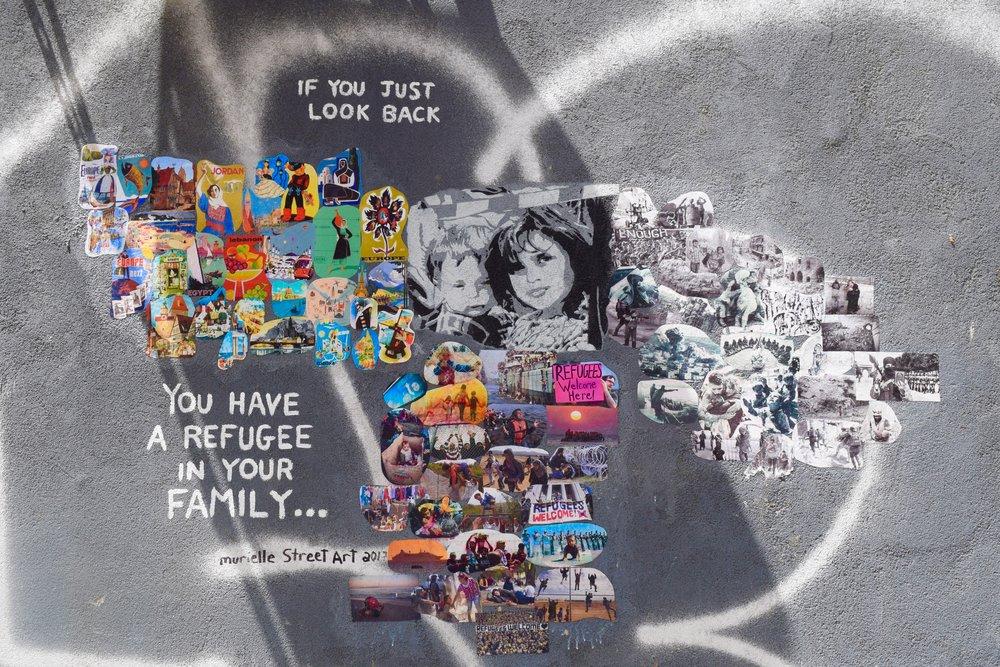 """""""Si miras al pasado, tienes un refugiado en tu familia..."""""""