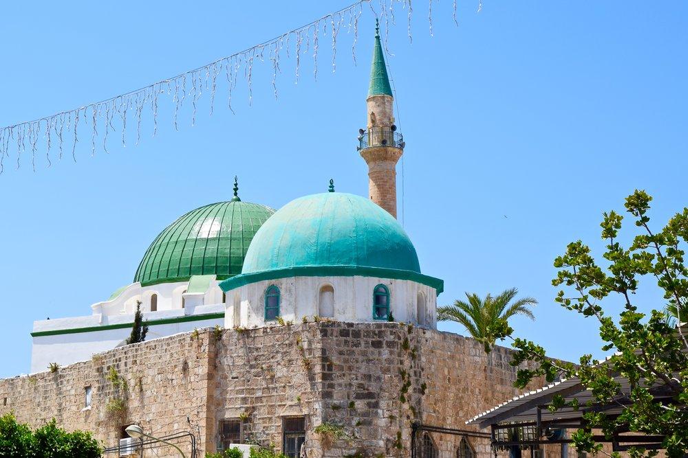 Ciudad vieja deAcre y mezquita Ahmed el-Jazzar