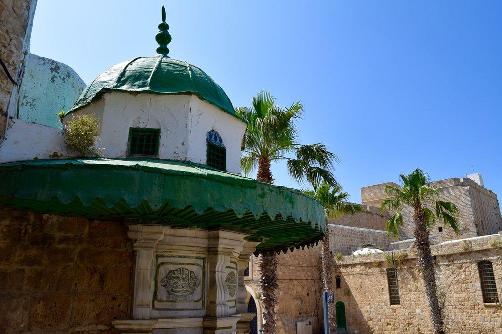 Decoración en el exterior dela mezquita