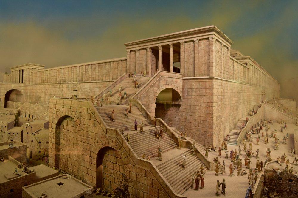 Reproducción  del  Templo  de  Jerusalén