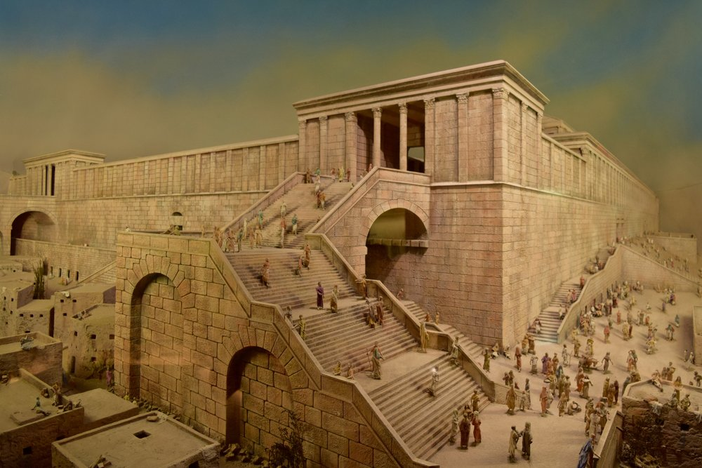 Reproduction of the Temple of Jerusalem