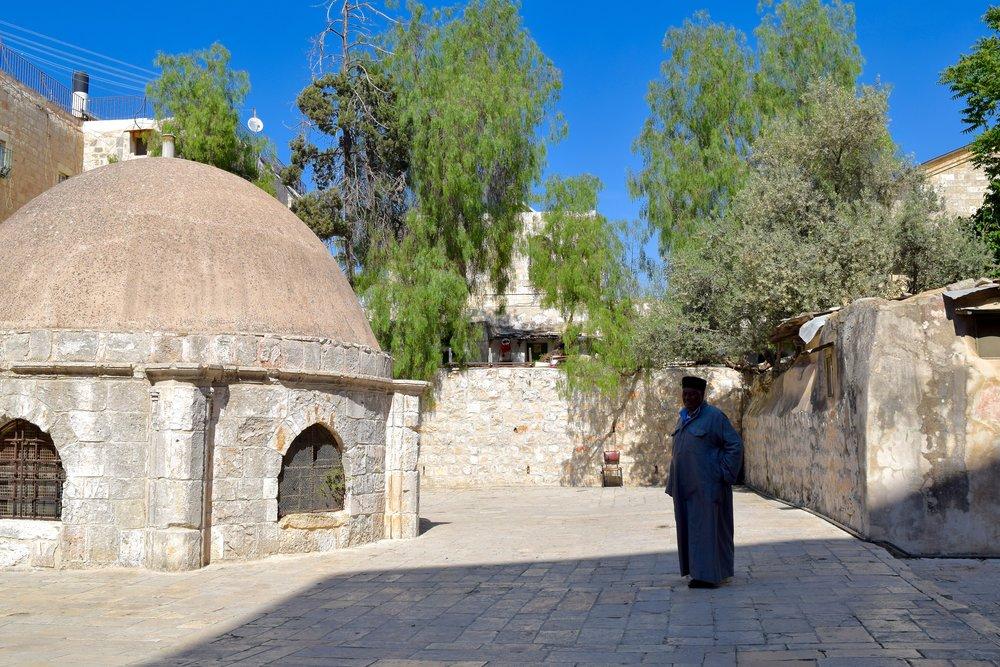 Terraces of the Ethiopian and Coptic Monasteries
