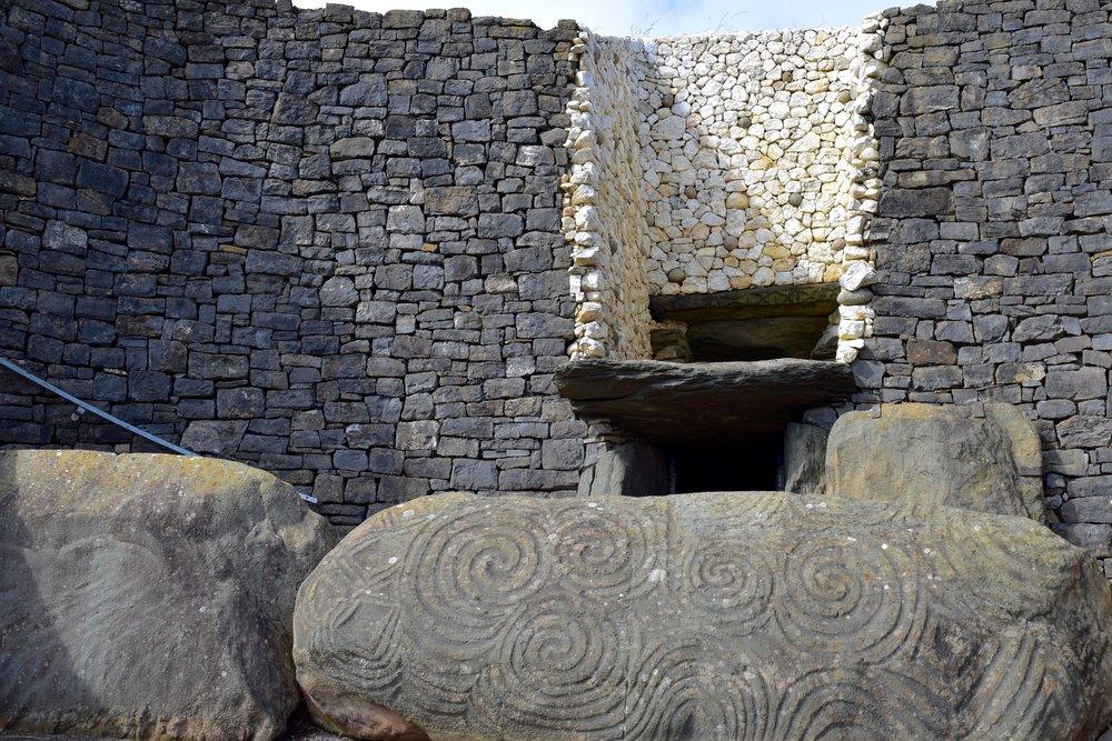 Piedra  de la entrada