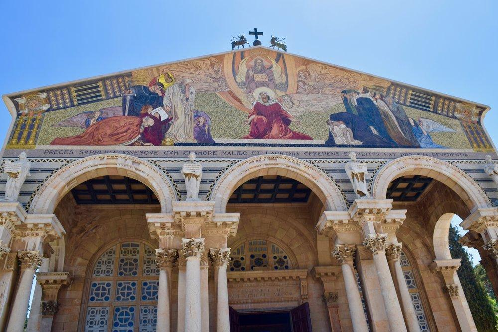 Basílica de la Agonía o Iglesia de Todas las Naciones