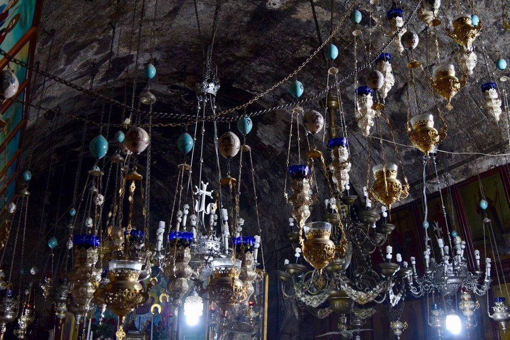 Interior de la lglesia del Sepulcro de Santa María