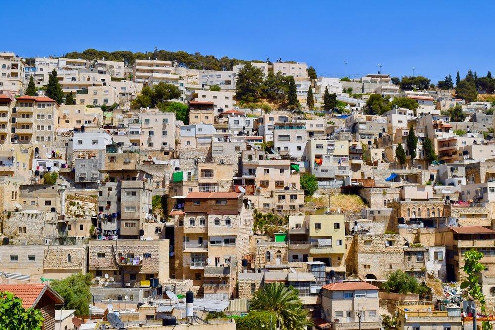 Vistas de Jerusalén Este