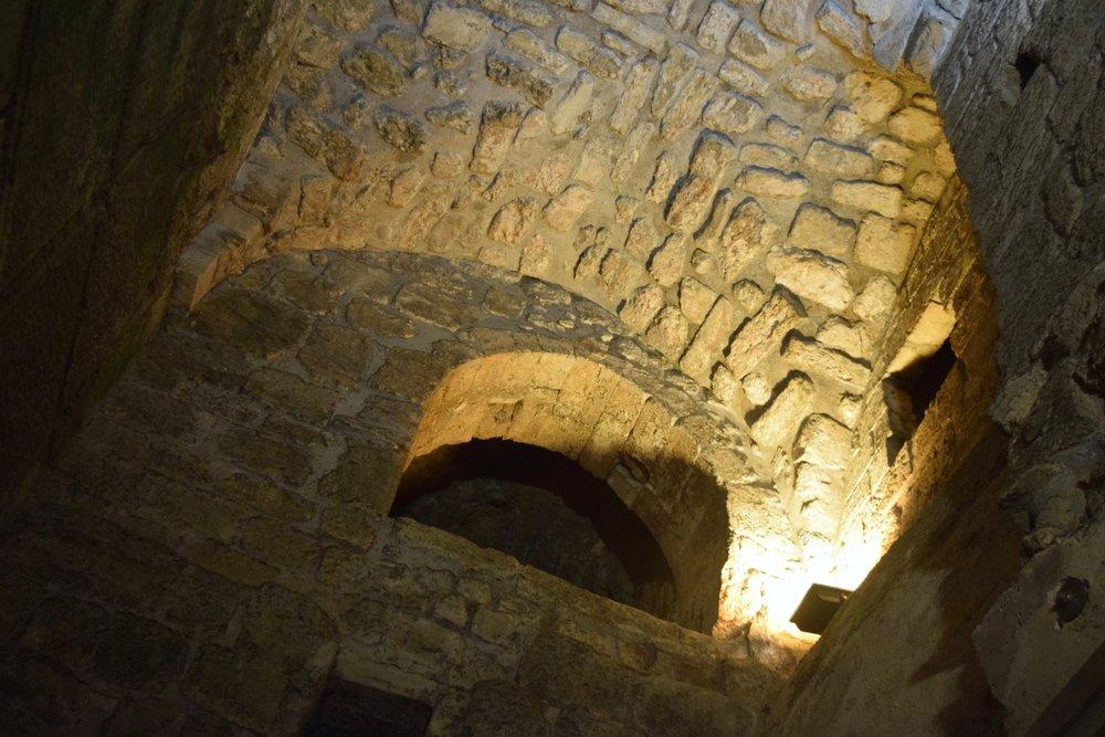 Túneles del Muro de las Lamentaciones