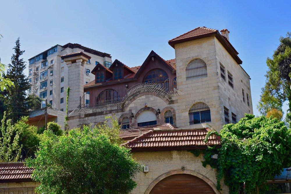Edificio antiguo en Ramallah