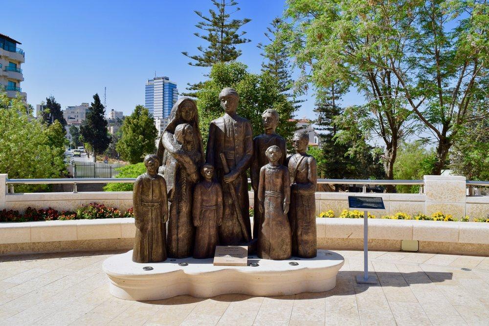 Statue of Rashid Haddadin