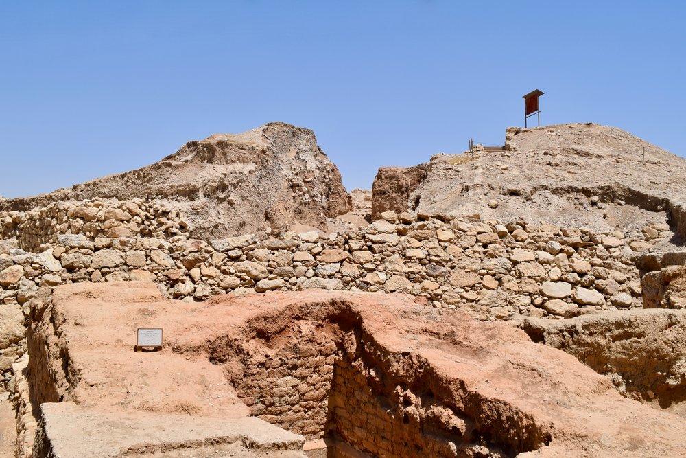 Ruinas de la antigua Jericó