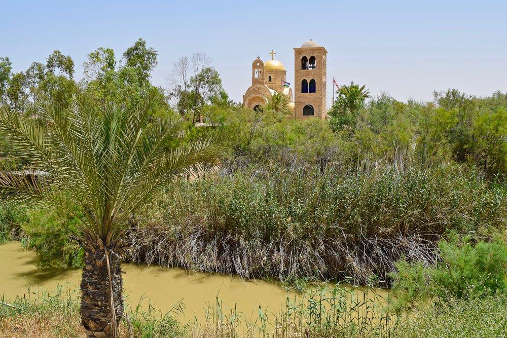 Sitio del bautismo en Qasr el-Yahud