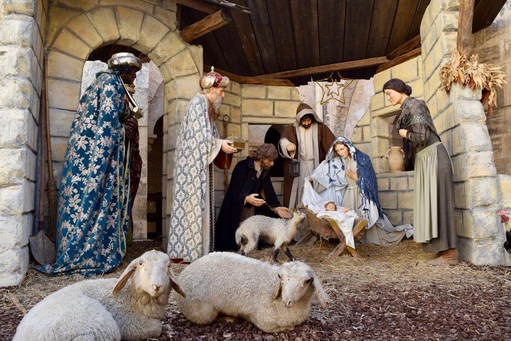 Representación de la Natividad
