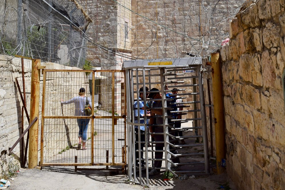Security checkpoints, Hebron