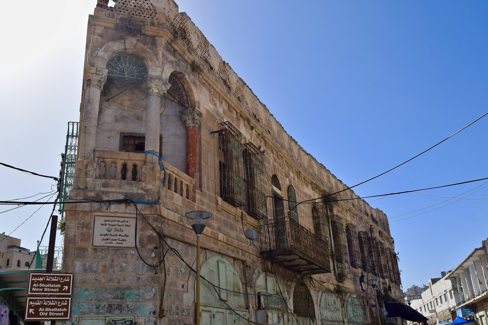 Old city of Hebron