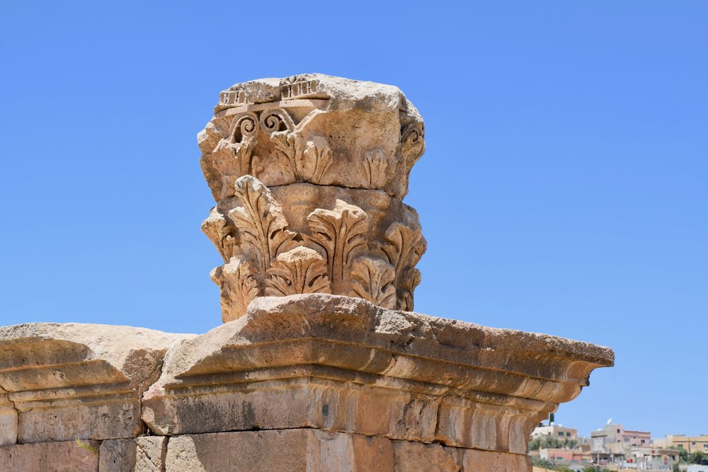 Decorated column