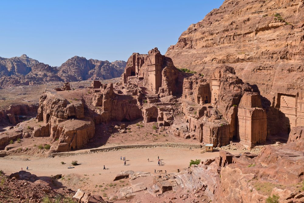 Views of Petra from the Higher Place of Sacrifice