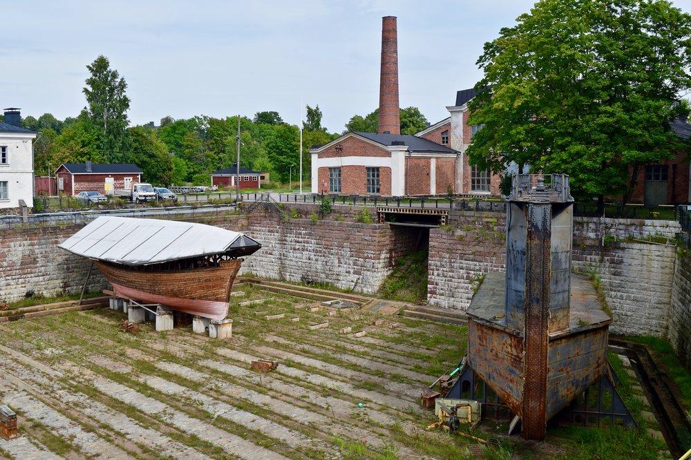 Dockyard, Suomenlinna