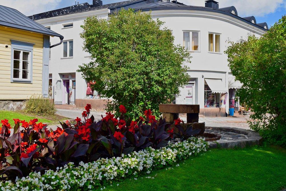 Beautiful park in Porvoo