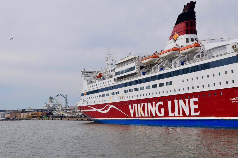 Viking Line ferry from Helsinki to Tallinn