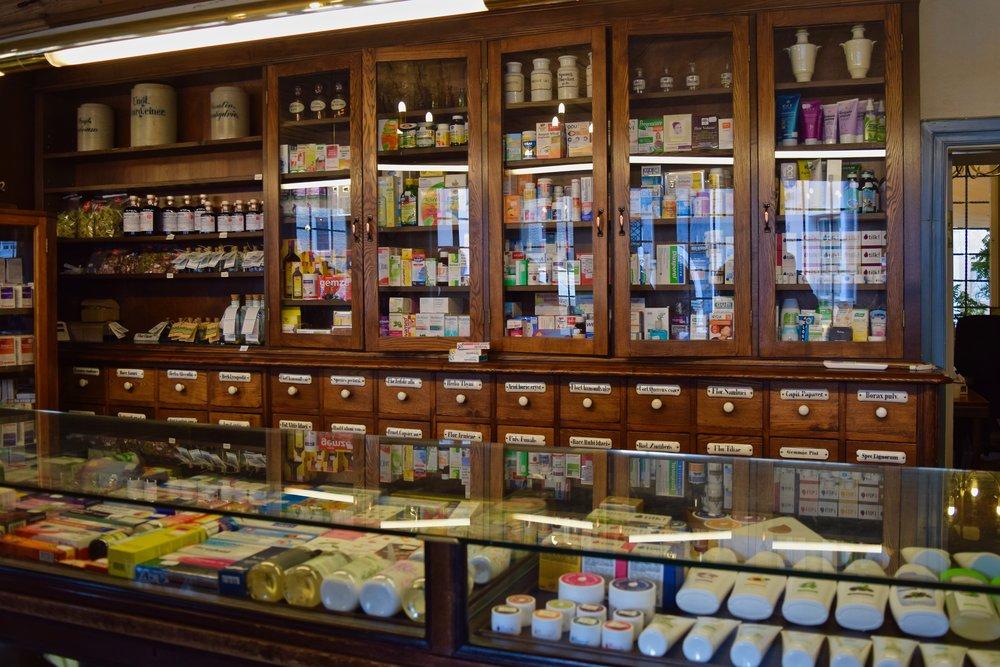 Interior of the Pharmacy