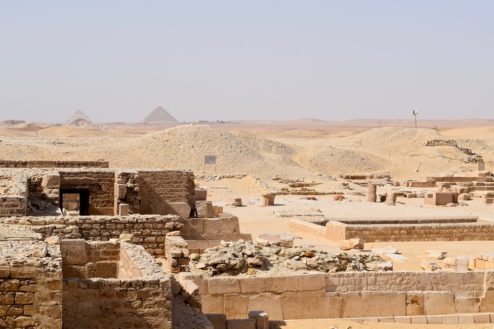 Views from the Funerary Complex of King Unas