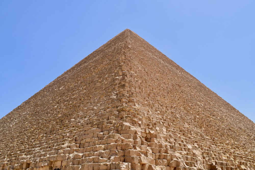 View of the Great Pyramid of Giza