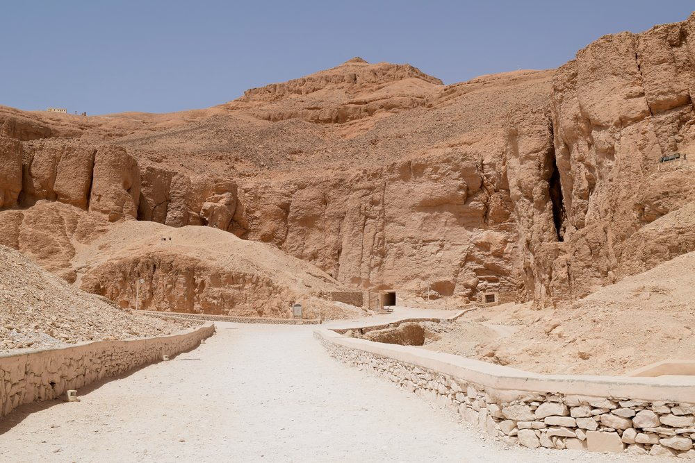 Entrance to the Valley of the Kings