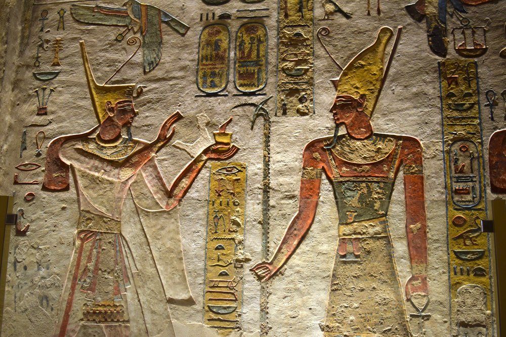 Tomb Ramses III Valley of the Kings Luxor