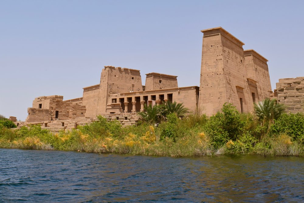 Philae Temple from the boat