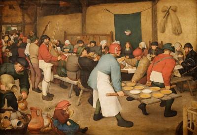 Il Banchetto nuziale è un dipinto a olio su tavola (114x164 cm) di Pieter Bruegel il Vecchio, databile al 1568 circa e conservato nel Kunsthistorisches Museum di Vienna.