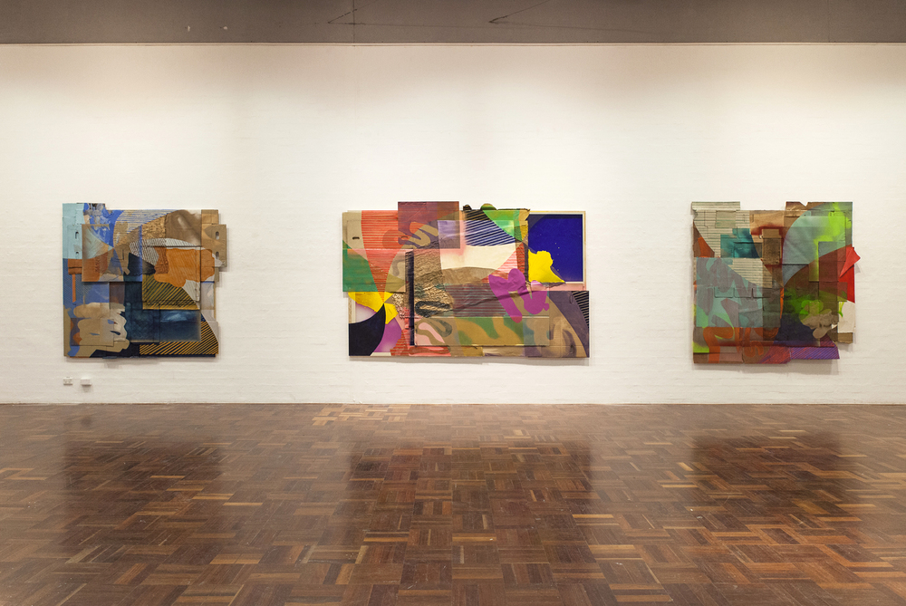 Painting beyond the Stretcher (installation image)