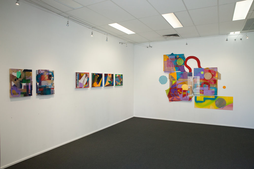 Shaping Canvases (installation image)
