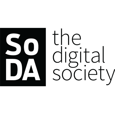 SoDA  Media Partner  sodaspeaks.com   SoDA is the leading global network for digital agency leaders, creative innovators and technology disruptors. With more than 100 agencies spanning 6 continents, our members help the world's most progressive brands imagine and create the future of digital experiences.