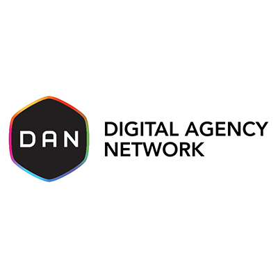 Digital Agency Network  Media Partner  digitalagencynetwork.com   DAN is a global network of carefully selected, highly talented, independently operated marketing & advertising agencies with digital DNA. DAN's mission is to support member agencies' businesses and enhance the intelligence, expertise, reach and effectiveness of the members through knowledge sharing and collaboration. Today, there are more than 500 DAN member agencies operating in 76 cities worldwide.