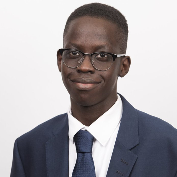 Athian Akec, Youth MP, London Borough of Camden - At just 16 years old, Athian Akec is a campaigner for Our Future, Our Choice and the Youth MP for Camden.