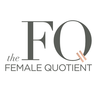 The Female Quotient  Media Partner  thefemalequotient.com   The Female Quotient is committed to advancing equality. The FQ Lounge creates experiential pop-ups at college campuses, global conferences, and companies where women connect, collaborate, and activate change together to best prepare women with confidence to advance in the workforce.