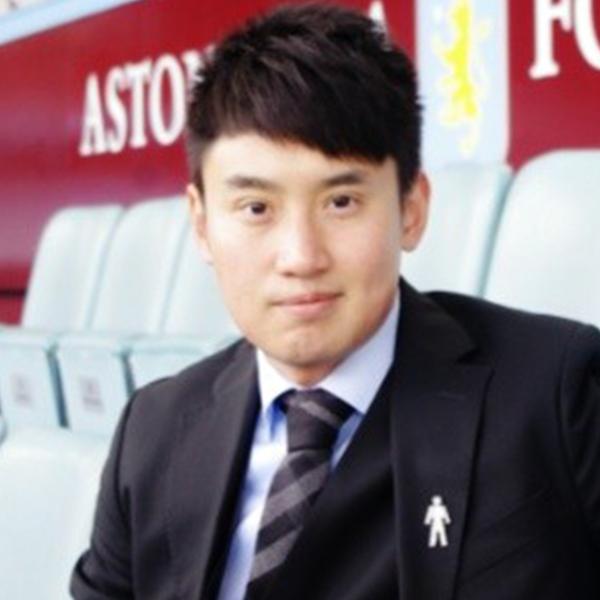 Rongtian He, Aston Villa - Rongtian is the former Oversea Business Officer for Aston Villa football club.