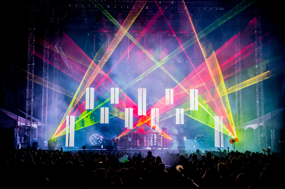 Pretty Lights at Suwannee Hulaween 2015