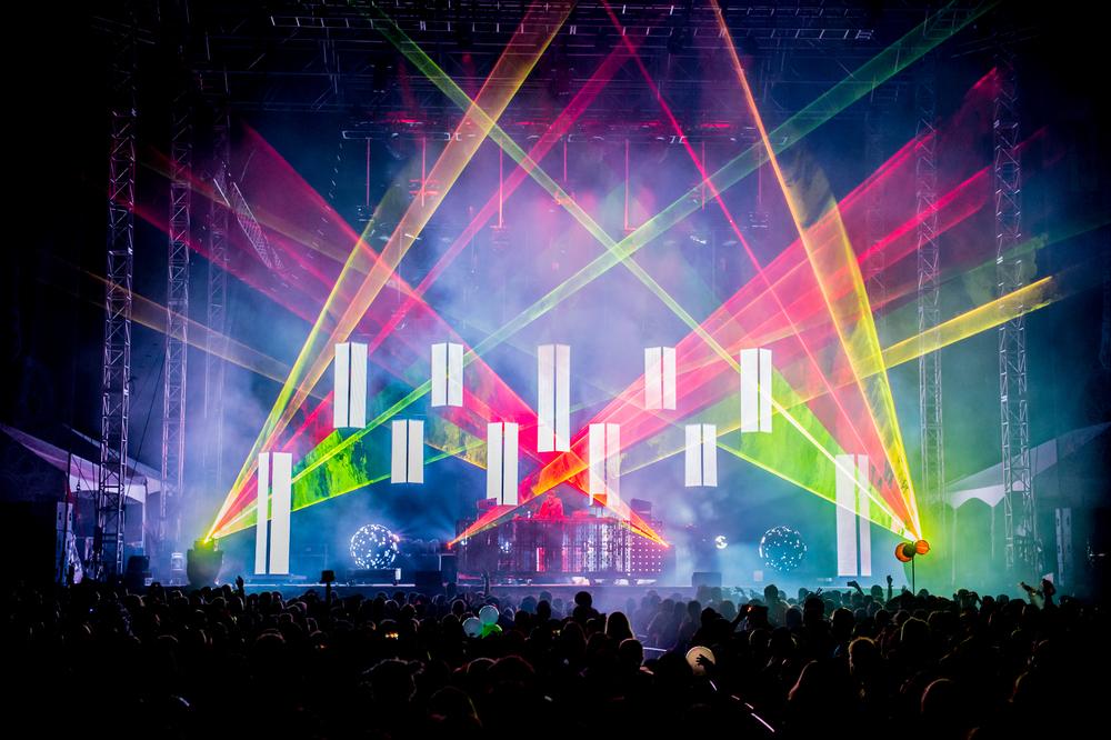 Pretty Lights at Suwannee Hulaween 2015
