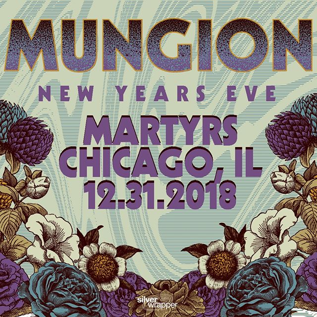 Just Announced... Ring in the new year with none other than #Chitown jam band favorites @MungionBand at @MartyrsLive Mon. 12/31! Tickets on sale Thursday at 10am CST 🤘🏽🎸 • • #Mungion #Chicago #ChicagoNYE #NYE #ChicagoEvents #ChicagoMusic #JamBand #NewYearsEve #ThingsToDoInChicago